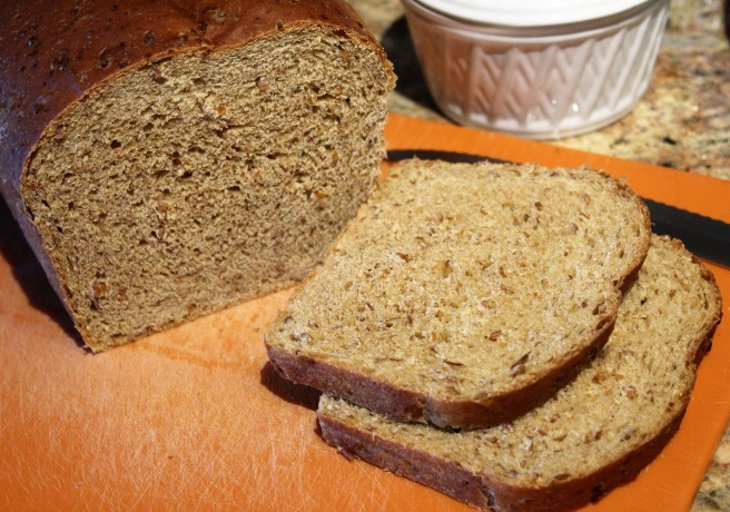Cracked wheat onion bread1